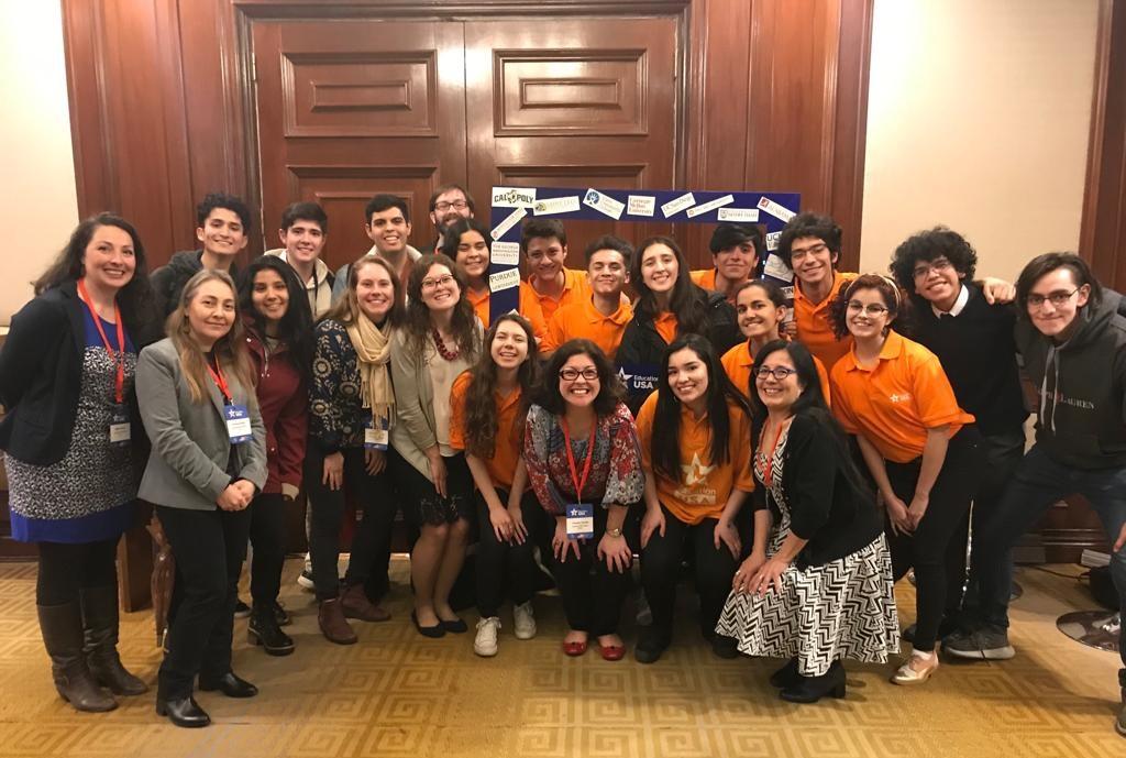 EducationUSA Fair Chile advisers&volunteers